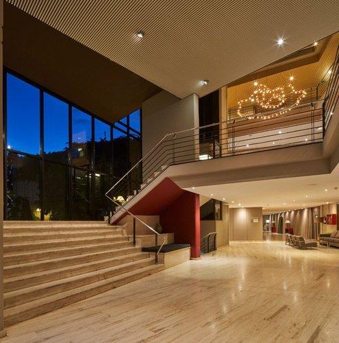 Sala d'estar Hotel Ciutat de Granollers Granollers