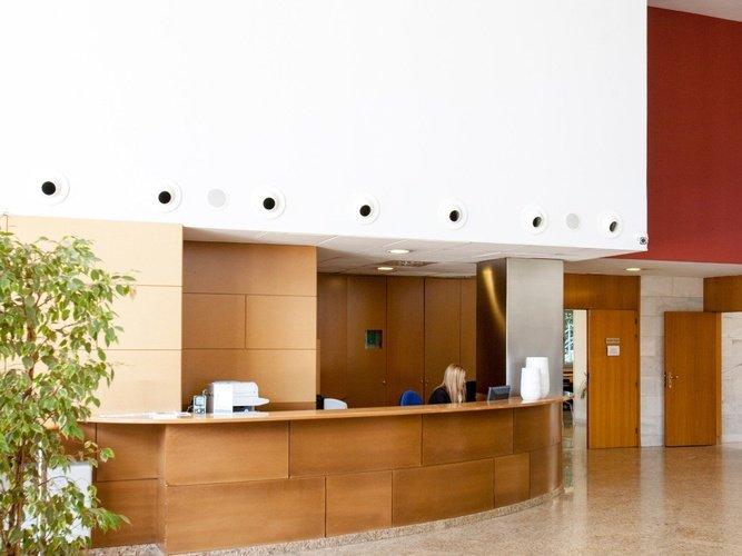 Recepció hotel porta de gallecs mollet del vallés