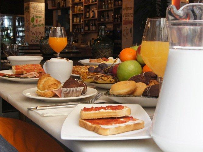 Gastronomia hotel ciutat barcelona