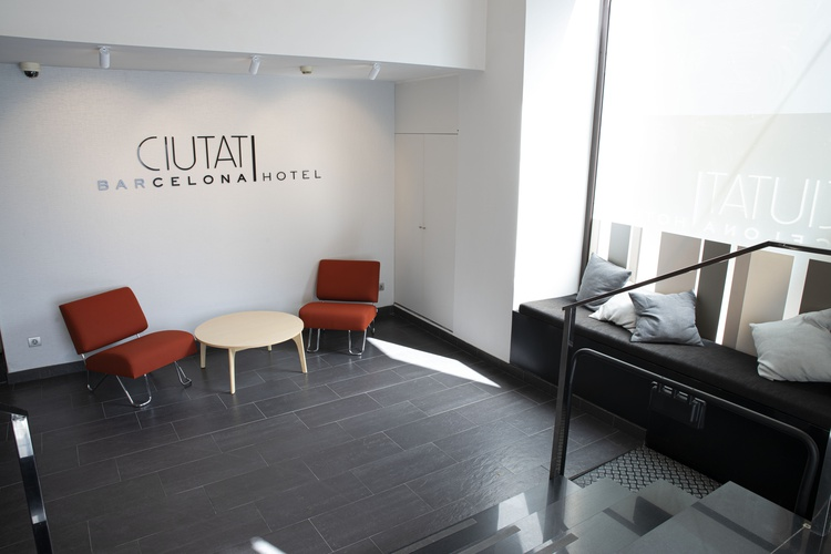Interior hotel ciutat barcelona
