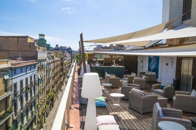 Bar hotel ciutat barcelona