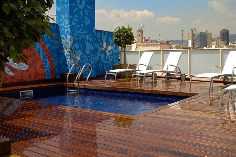Piscina Hotel Ciutat Barcelona Barcelona