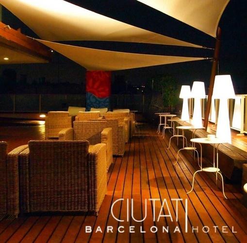 Terrassa hotel ciutat barcelona