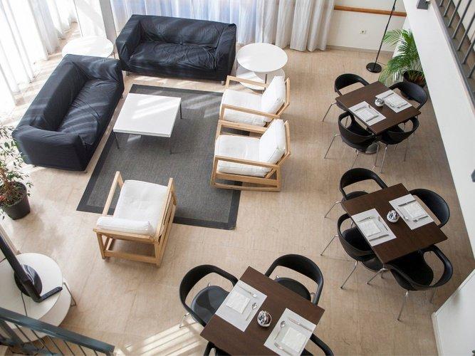 Sala d'estar hotel porta de gallecs mollet del vallés