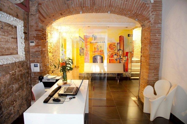 Recepció Apartaments Ciutat Vella Barcelona