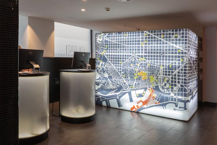 Recepció hotel ciutat barcelona