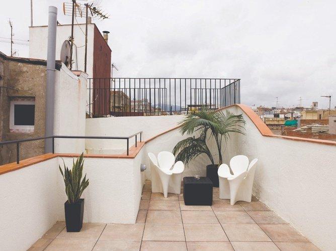 Terrassa Apartaments Ciutat Vella Barcelona